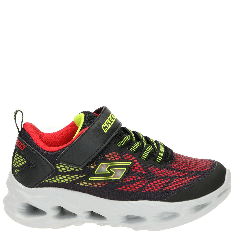 Skechers Vortex-Flash Sneaker Jongens Zwart