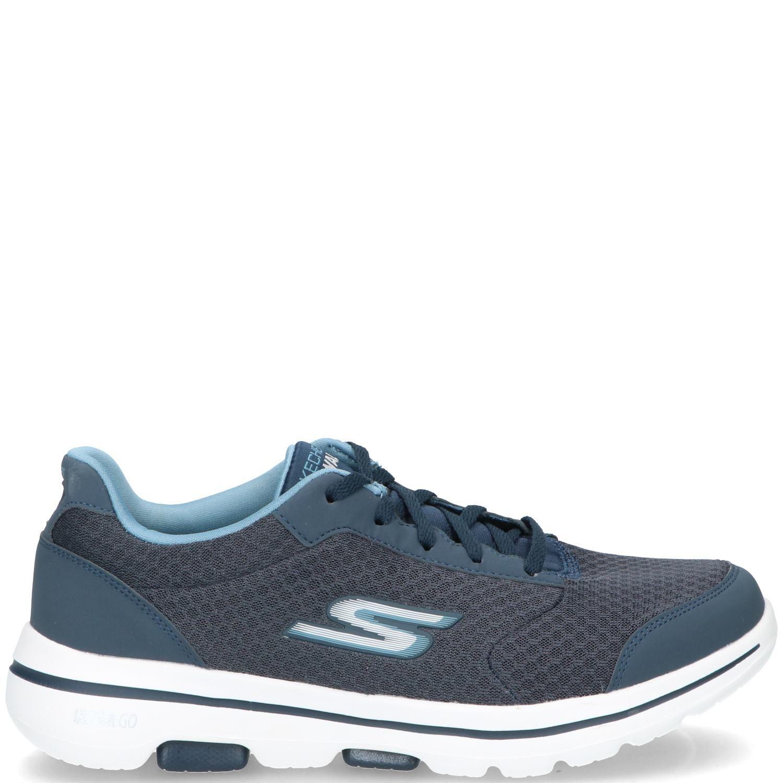Skechers Go Walk 5 Qualify Sneaker Heren Blauw