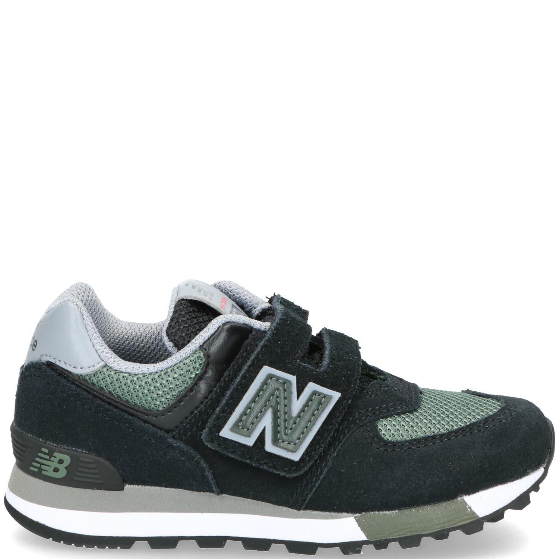 New Balance 574 Sneaker Jongens Groen-Zwart
