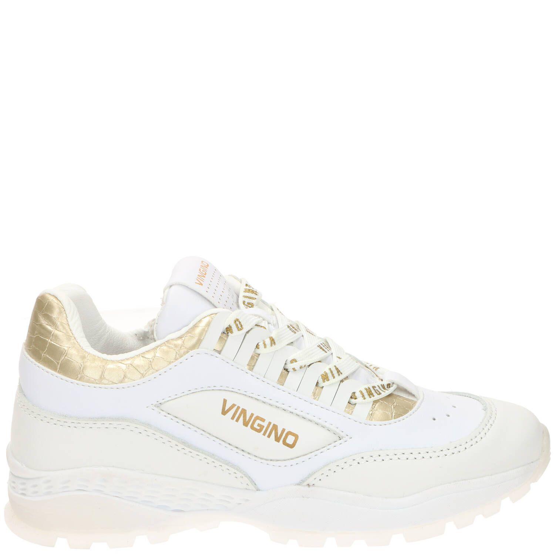 Vingino Fenna Sneaker Meisjes Goud-Wit