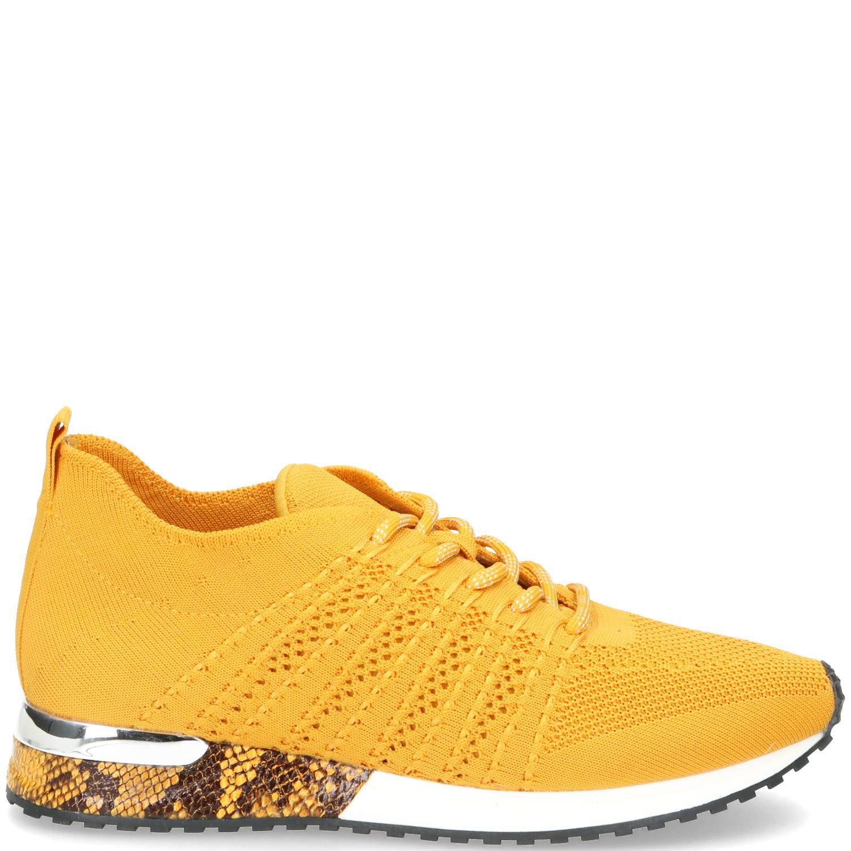 La Strada Sneaker Dames Geel