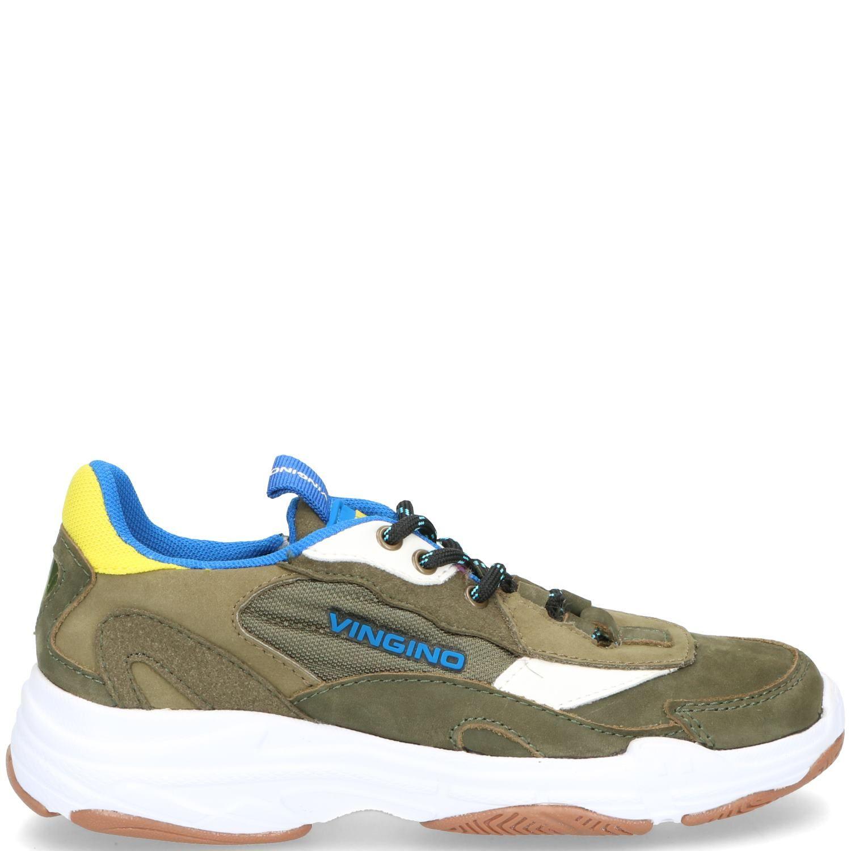 Vingino Danny Sneaker Groen-Geel-Blauw-Multi