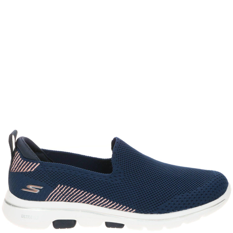 Skechers Go Walk 5 Prized Instapper Dames Blauw