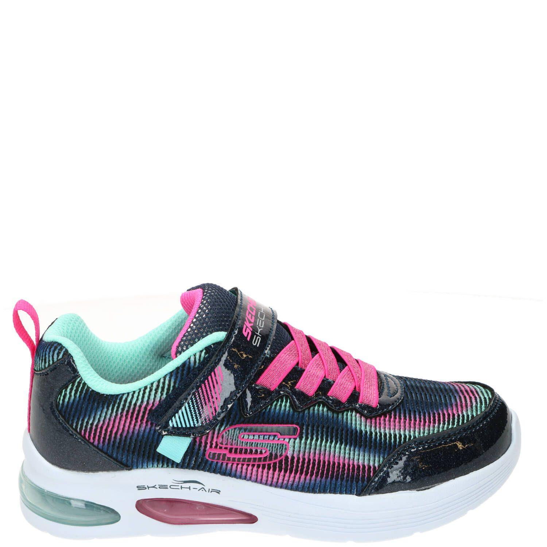 Skechers Skech-Air Dual Sneaker Meisjes Blauw-Roze