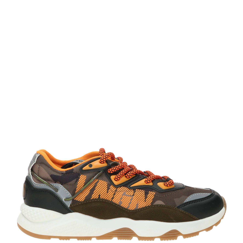 Vingino R-SP-CT Sneaker Zwart-Multi