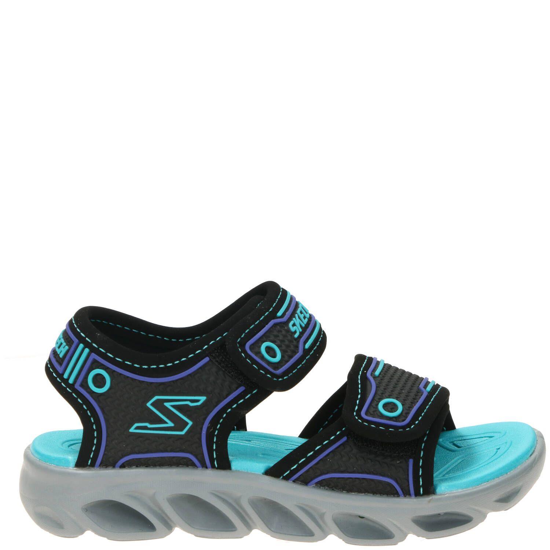 Skechers S-Lights Slipper Jongens Blauw-Zwart