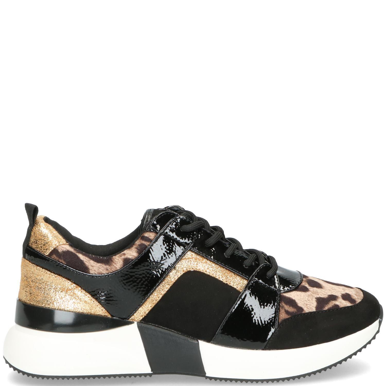 La Strada Sneaker Dames Goud-Zwart