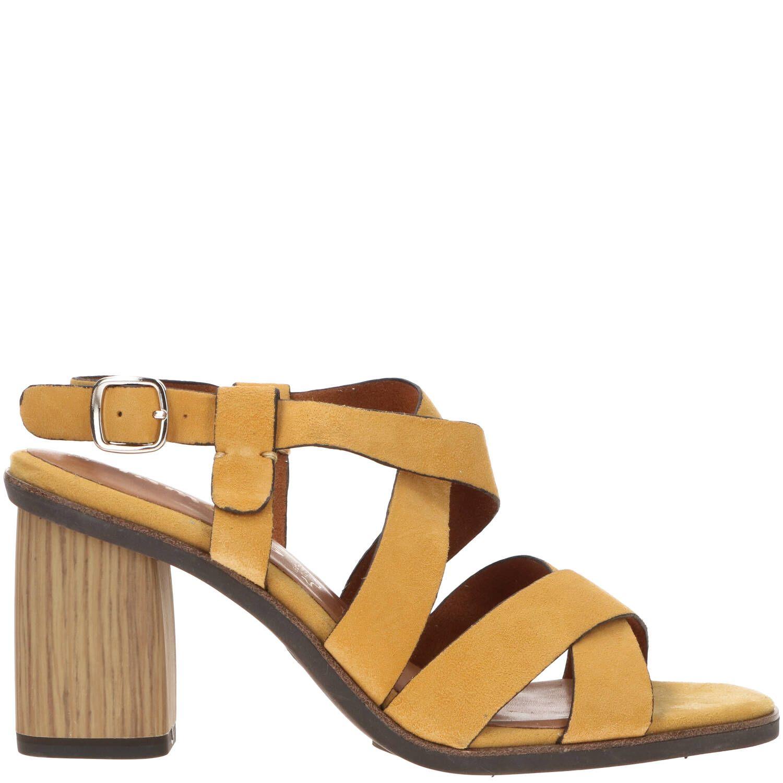 Tamaris naomy sandalette in het geel. deze damesschoenen hebben een bovenwerk gemaakt van leer en de ...