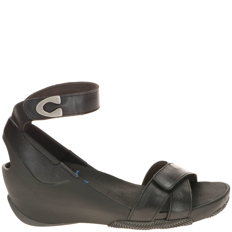 Wolky Era Comfort Sandaal Dames Zwart