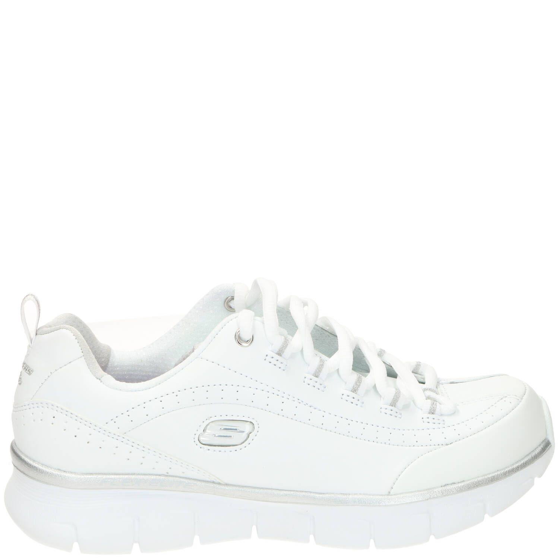 Skechers Synergy 3.0 Sneaker Dames Wit