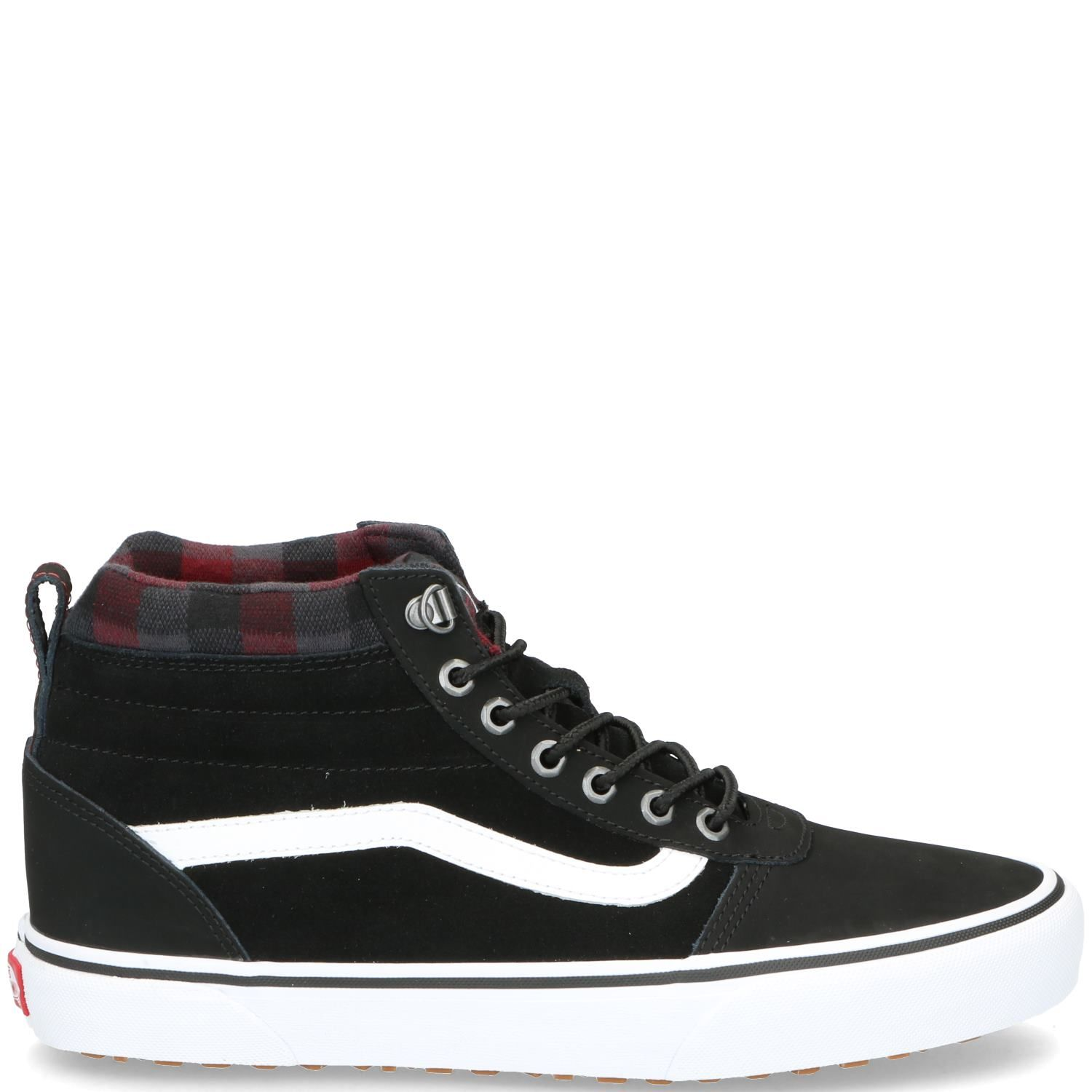 Vans Ward Hi Veterboot Heren Zwart