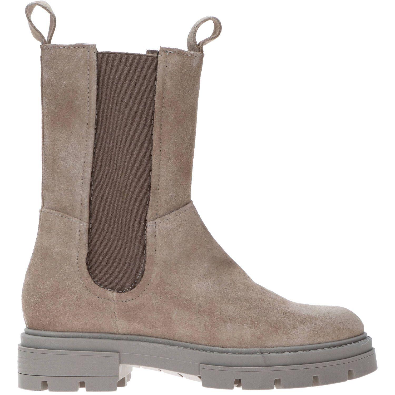 Mjus Beatrix M79203 hoge leren chelsea boots beige online kopen