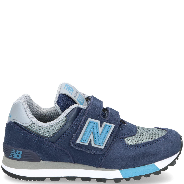 New Balance 574 Sneaker Jongens Blauw