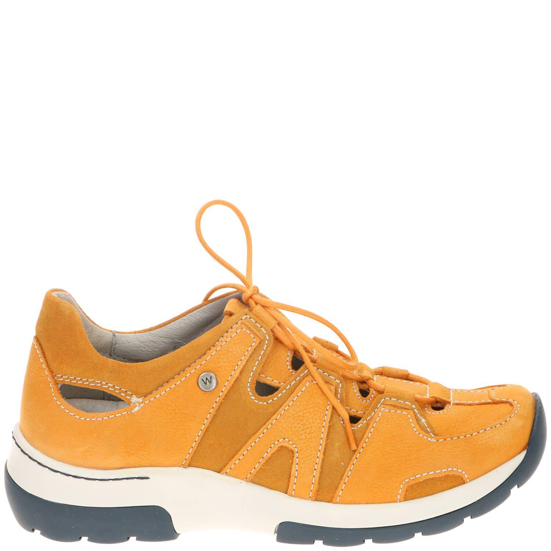 Wolky Nortec Comfort Sneaker Dames Geel