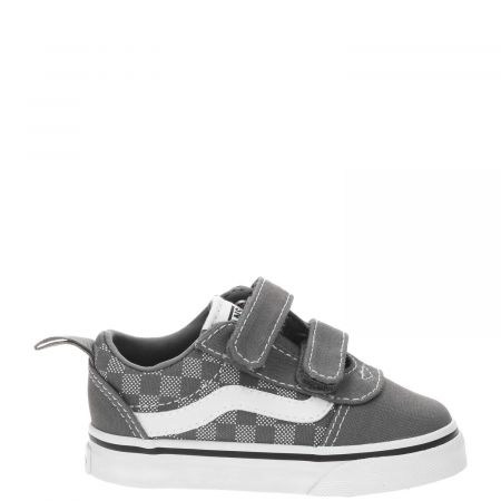Vans Ward V checker dot klittenband sneaker