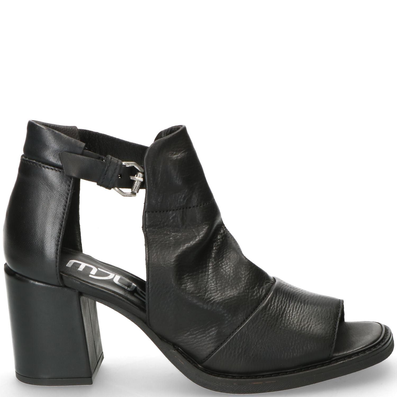 Mjus Sandalette Dames Zwart