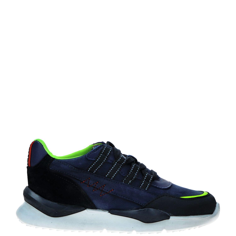 Red Rag 13533 nubuck sneakers blauw online kopen