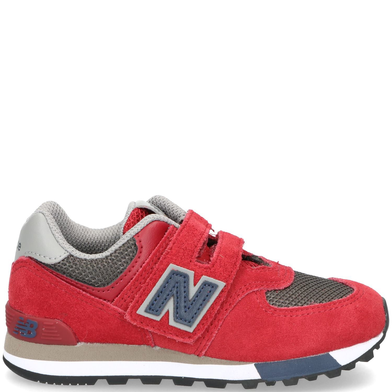 New Balance 574 Sneaker Jongens Rood