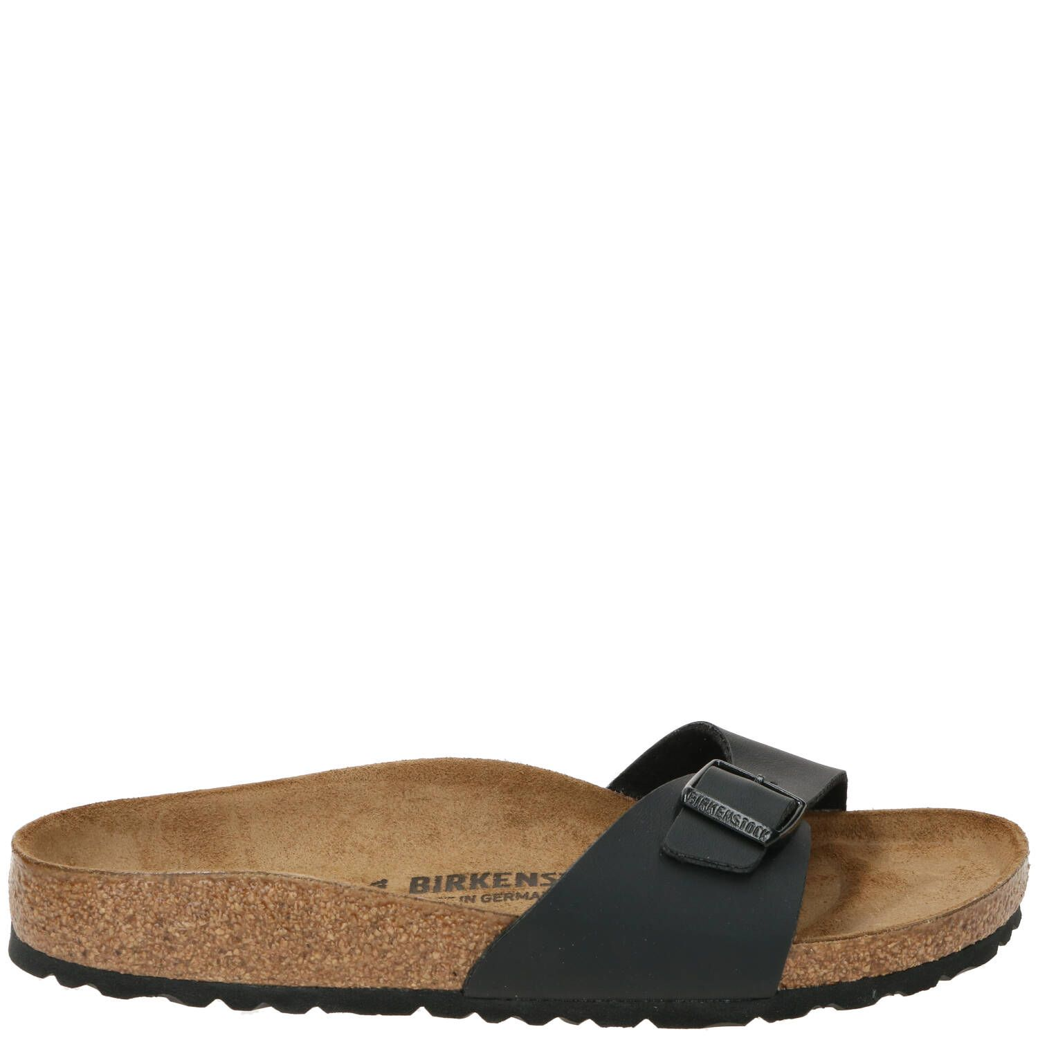 Birkenstock Madrid Slipper Dames Zwart